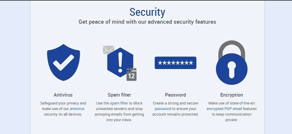 Gmx mail security
